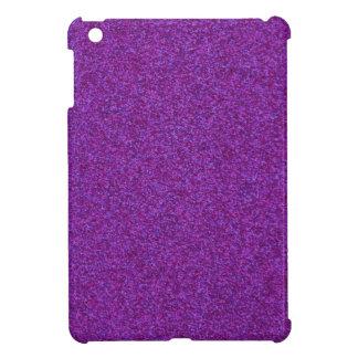 Brillo chispeante púrpura iPad mini carcasa