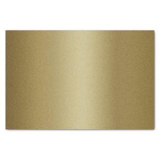 Brillo con clase del oro papel de seda pequeño
