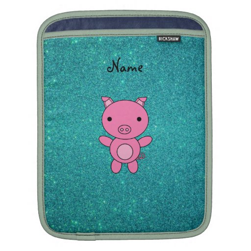 Brillo conocido personalizado de la turquesa del c mangas de iPad