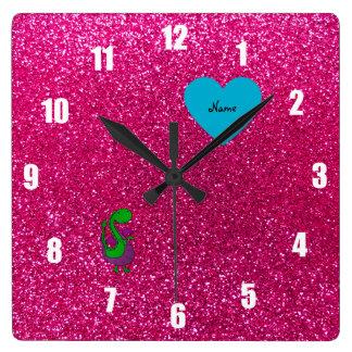 Brillo conocido personalizado de las rosas fuertes reloj