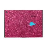 Brillo conocido personalizado del rosa de la balle iPad mini carcasa