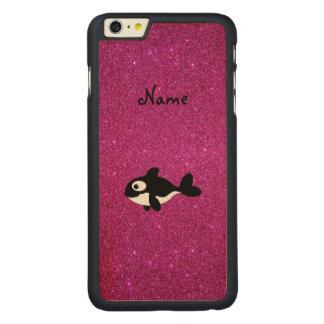 Brillo conocido personalizado del rosa de la orca