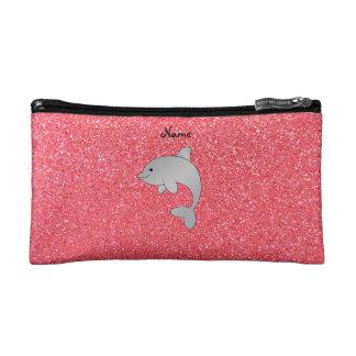 Brillo conocido personalizado del rosa del delfín