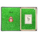 Brillo conocido personalizado del verde del búho