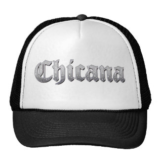 Brillo de Chicana del gorra