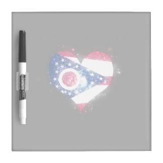 Brillo de la bandera de Ohio único