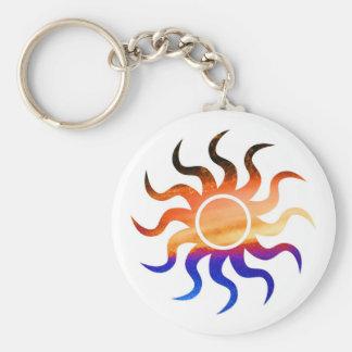 Brillo de la Florida Sun Llavero