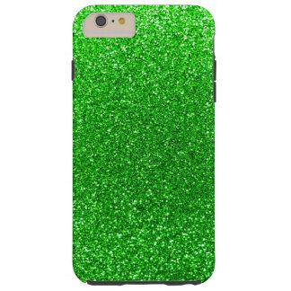 Brillo de la verde lima funda de iPhone 6 plus tough