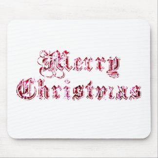 Brillo de las Felices Navidad Alfombrilla De Ratones