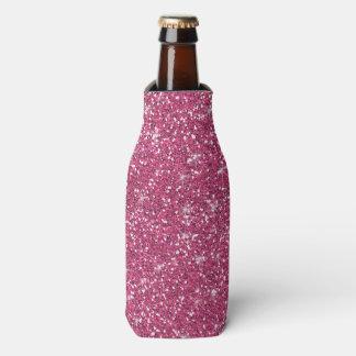 Brillo de las rosas fuertes impreso enfriador de botellas