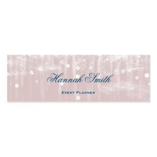 Brillo de lujo moderno elegante profesional tarjetas de visita mini