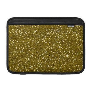 Brillo de moda del oro fundas macbook air