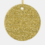 Brillo de oro del reflejo ornamentos de reyes magos