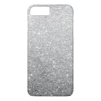 Brillo de plata elegante funda iPhone 7 plus