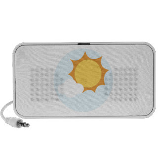 Brillo de Sun Laptop Altavoz