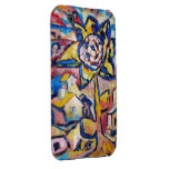 Brillo de Sun de la flor para todo el caso IPhone3 iPhone 3 Case-Mate Cárcasas