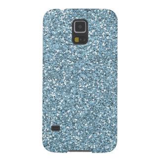 Brillo del azul de cielo falso carcasa galaxy s5