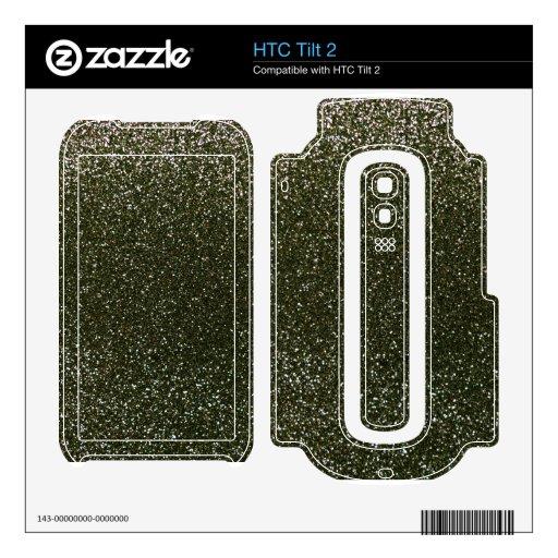 Brillo del Forest Green Calcomanía Para El HTC Tilt 2