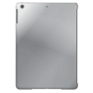 brillo del metal funda para iPad air