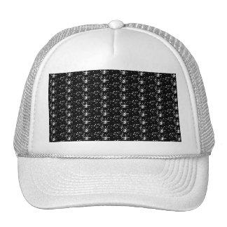 Brillo del negro del gorra
