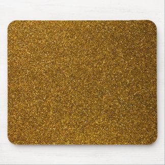 Brillo del oro alfombrilla de raton