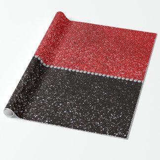 Brillo del rojo y del negro