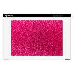 Brillo del rosa color de rosa portátil skins