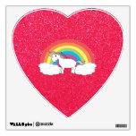 Brillo del rosa del unicornio del arco iris