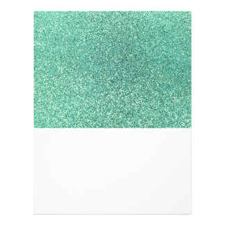 Brillo del verde de Seafoam Tarjetones