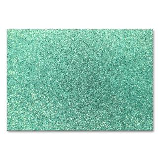 Brillo del verde de Seafoam