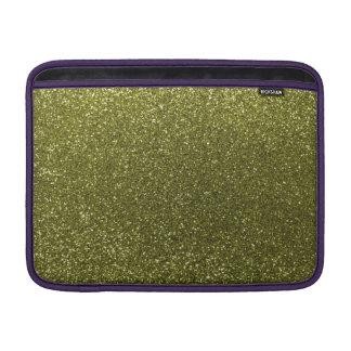 Brillo del verde verde oliva fundas macbook air