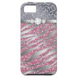 Brillo duro picosegundo de la joyería del compañer iPhone 5 Case-Mate coberturas