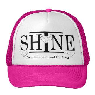Brillo el gorra del camionero del logotipo