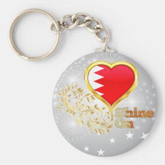 Brillo en Bahrein Llavero Redondo Tipo Pin