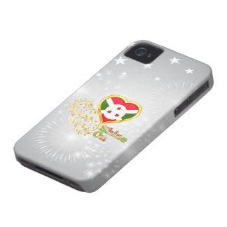 Brillo en Burundi Case-Mate iPhone 4 Protectores