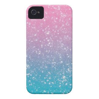 Brillo en colores pastel de Ombre iPhone 4 Case-Mate Carcasa