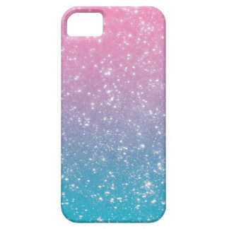 Brillo en colores pastel de Ombre iPhone 5 Fundas