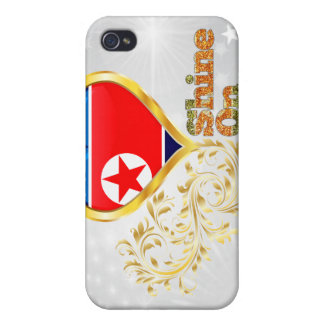 Brillo en Corea del Norte iPhone 4/4S Funda