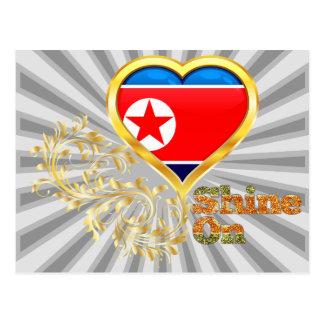 Brillo en Corea del Norte Postal