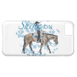 Brillo en diseño occidental del placer carcasa iPhone 5C