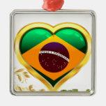 Brillo en el Brasil Ornamento De Navidad