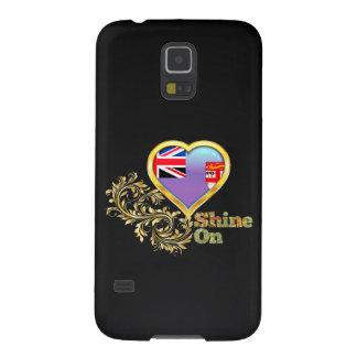 Brillo en Fiji Funda Para Galaxy S5