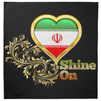 Brillo en Irán Servilleta