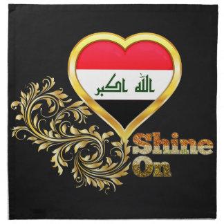 Brillo en Iraq Servilleta De Papel