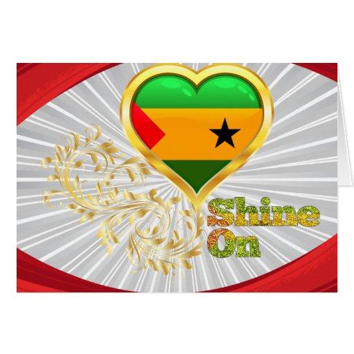 Brillo en Sao Tome and Principe Tarjetas