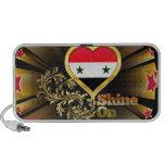 Brillo en Siria Laptop Altavoz