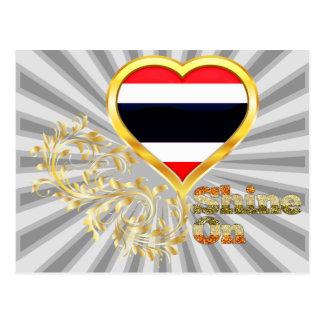 Brillo en Tailandia Postales