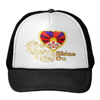 Brillo en Tíbet Gorro De Camionero