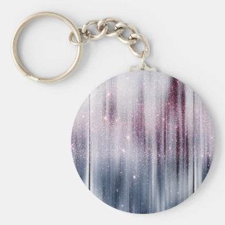 Brillo estrellado de la nebulosa llaveros personalizados