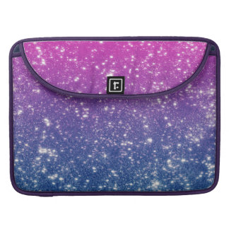 Brillo magenta de Ombre Funda Macbook Pro